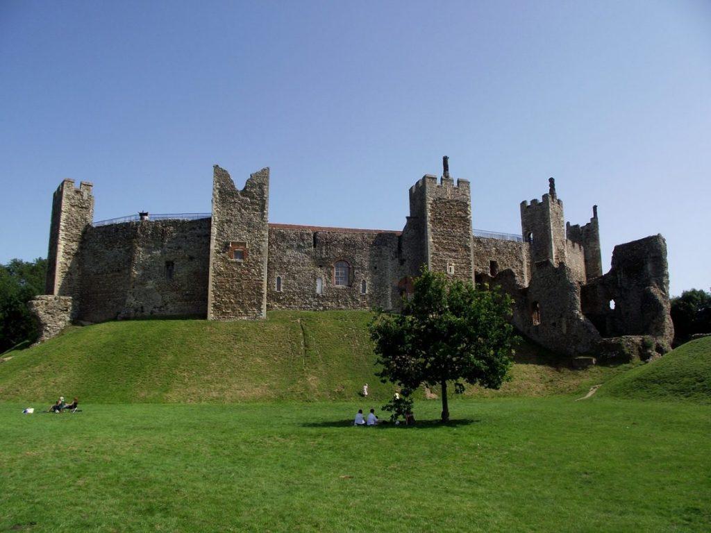 Famous Framlingham Castle, Suffolk